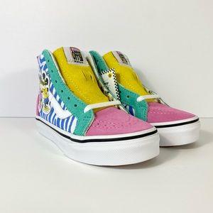 Vans x Disney Sk8-Hi Zip 80's Mickey Sneakers